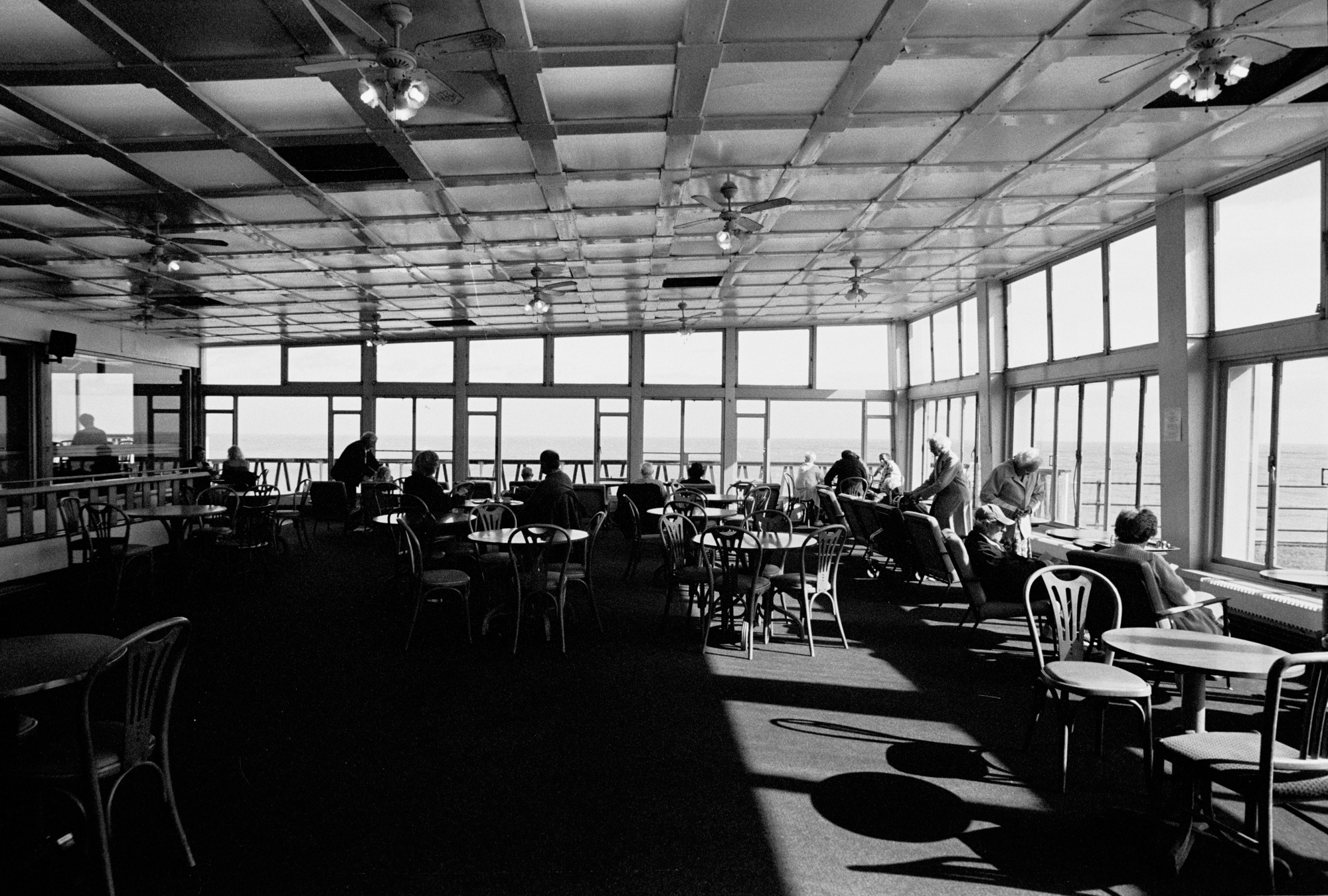 AT THE SEASIDE - Cafeteria - Eastbourne - 2010