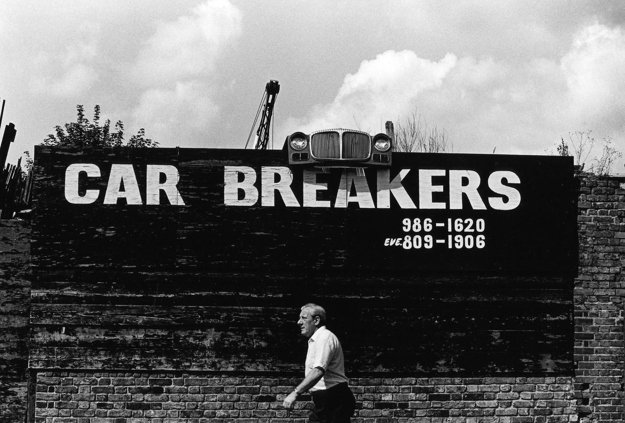 LONDON LIFE - Car Breakers - Hackney - 1991