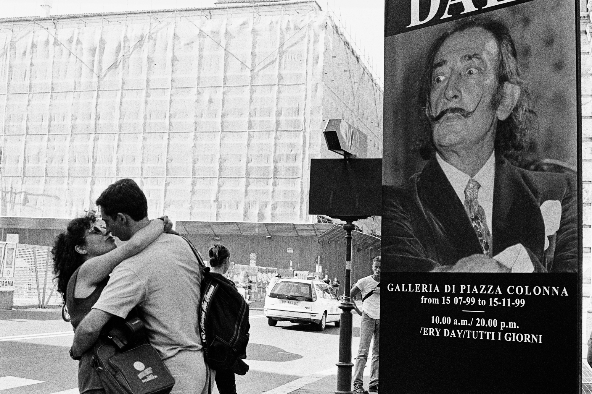 TRAVELS IN ITALY - Dali - Rome - 1999