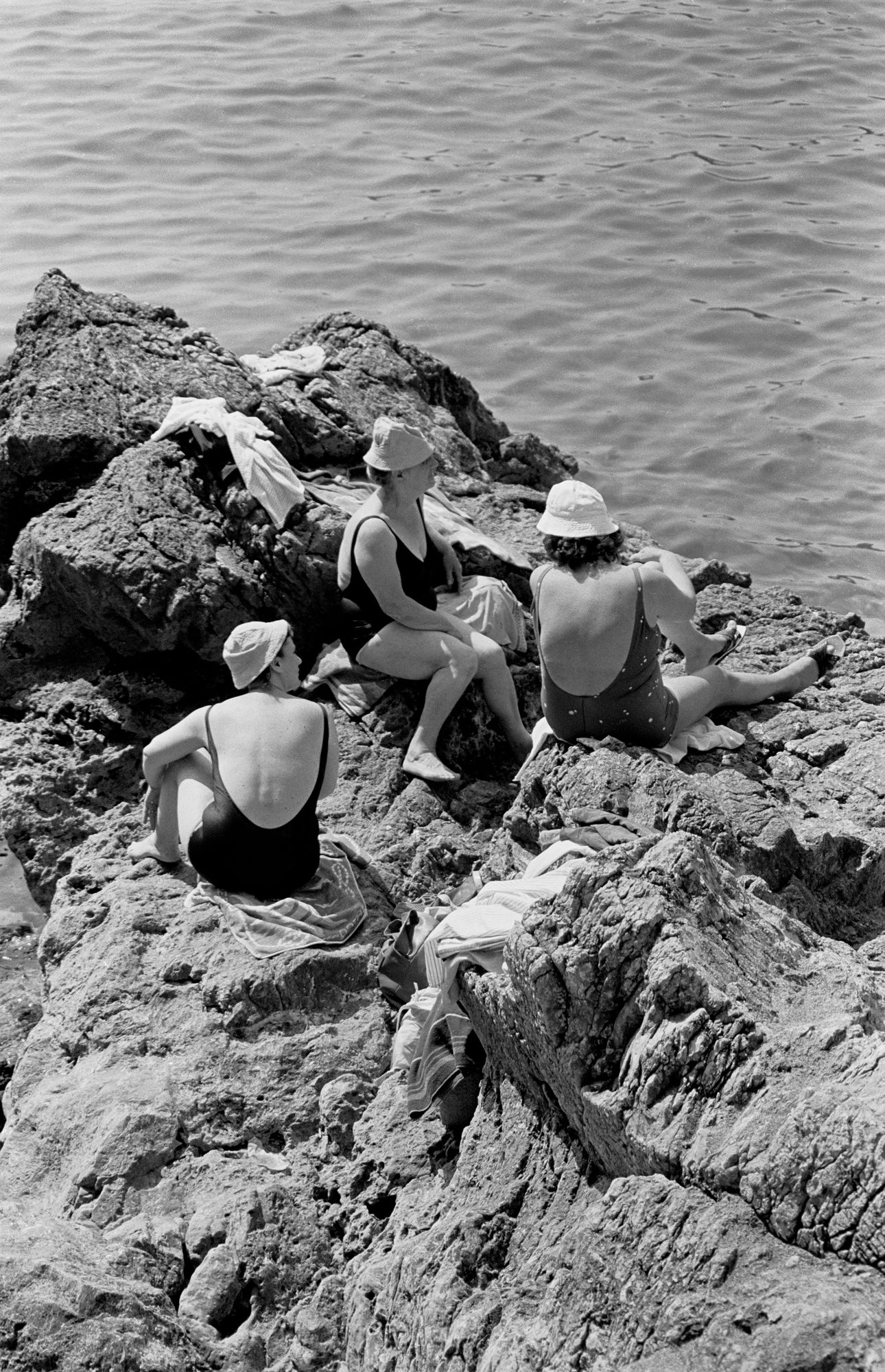 TRAVELS IN ITALY - On the Rocks - Tellaro - early 1980's